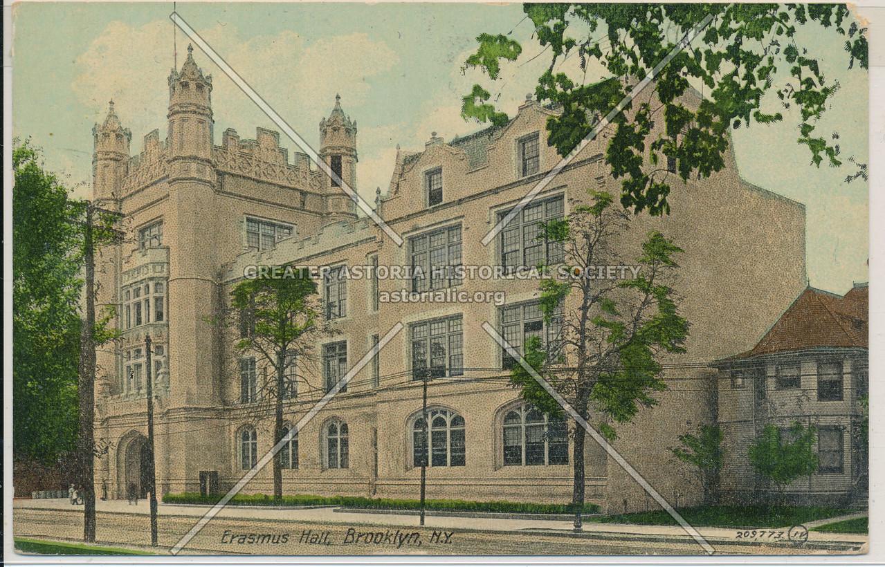 Erasmus Hall, Bklyn