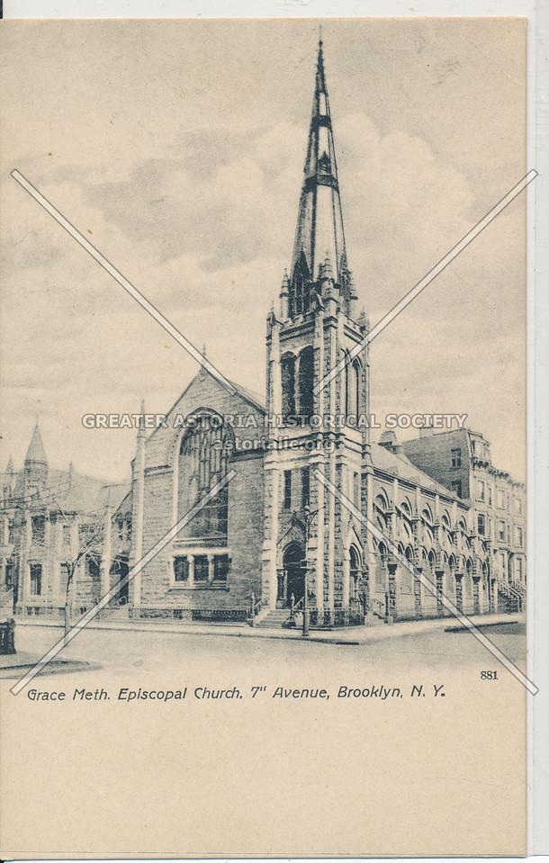 Grace Meth. Episcopal Church, 7th Ave, Bklyn