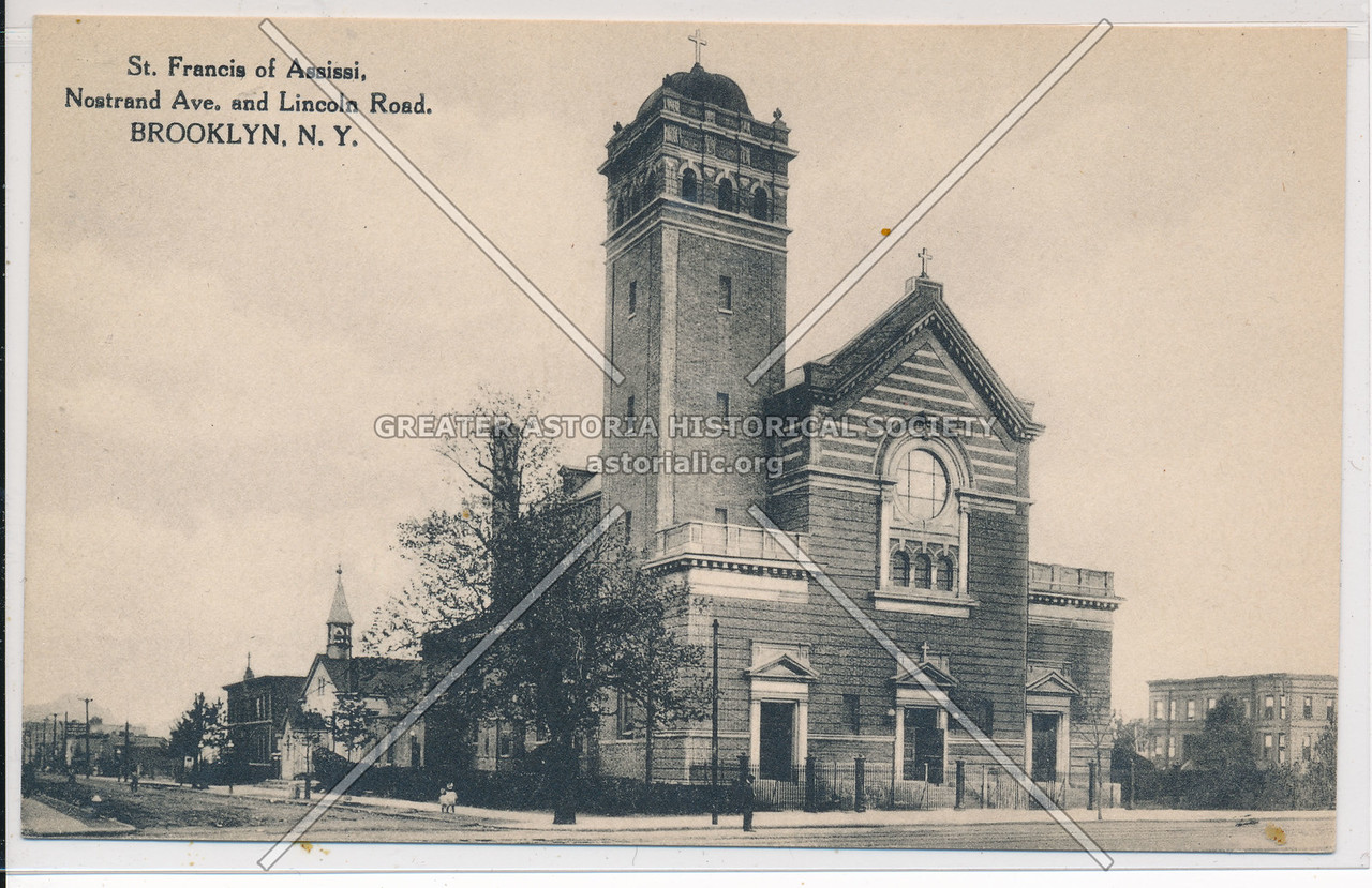 St. Francis of Assissi Church, Nostrand Ave. and Lincoln Road, Bklyn