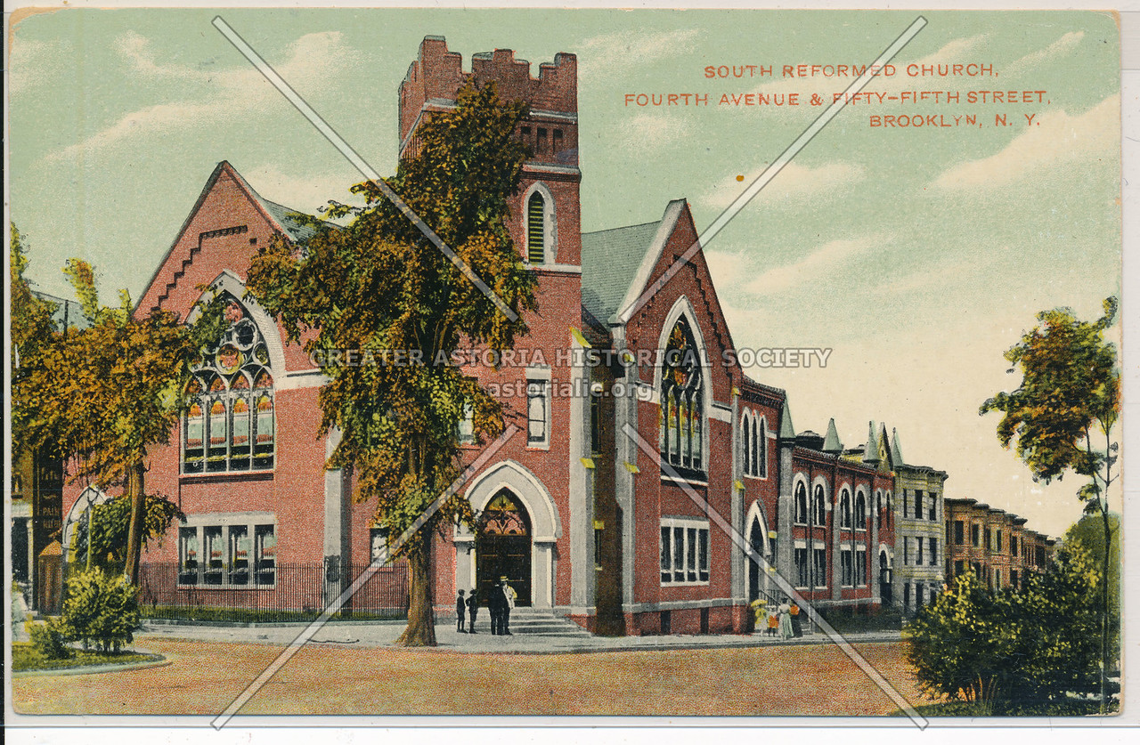 South Reformed Church, 4th Ave and 55th St., Bklyn