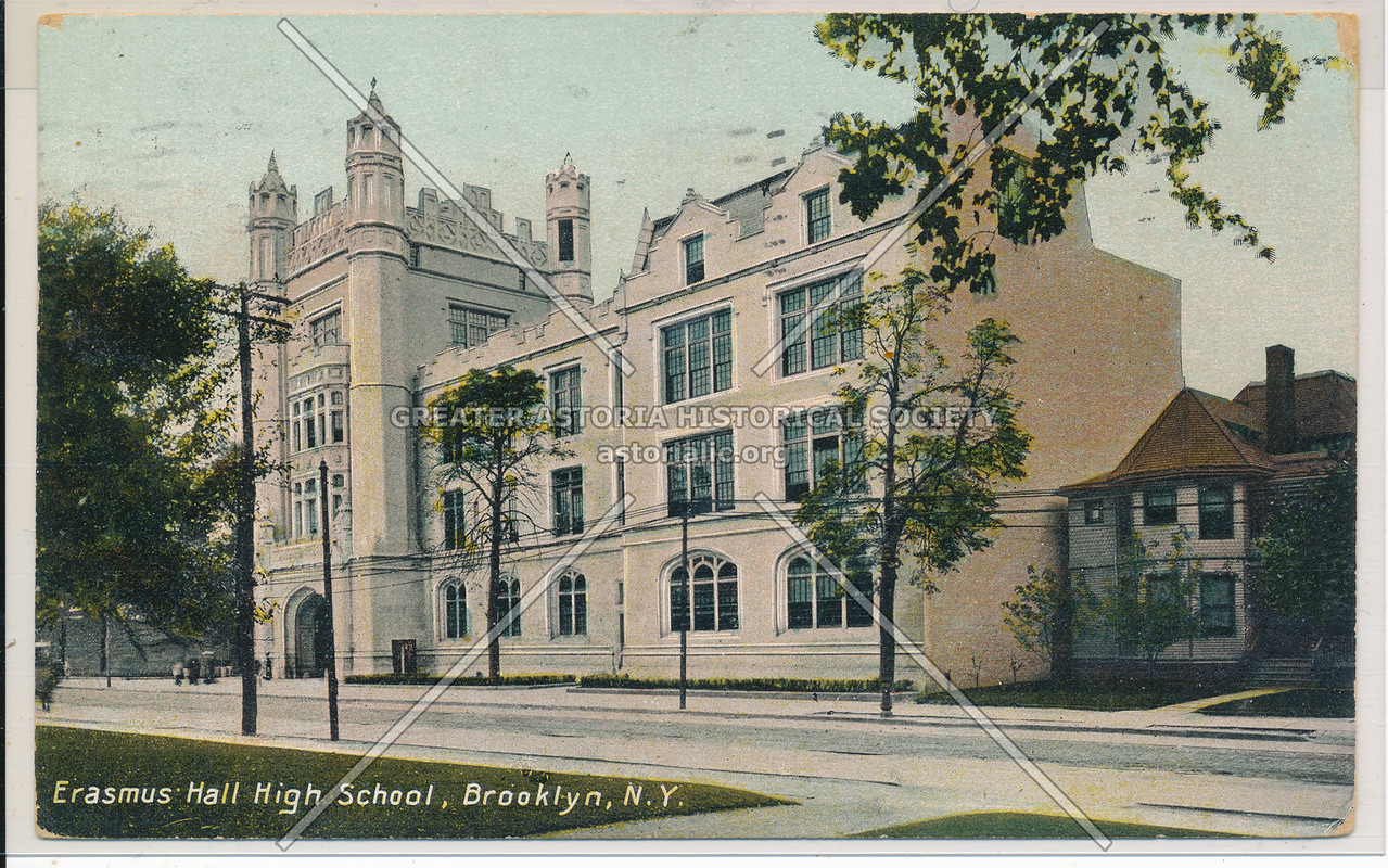 Erasmus Hall HS, Bklyn