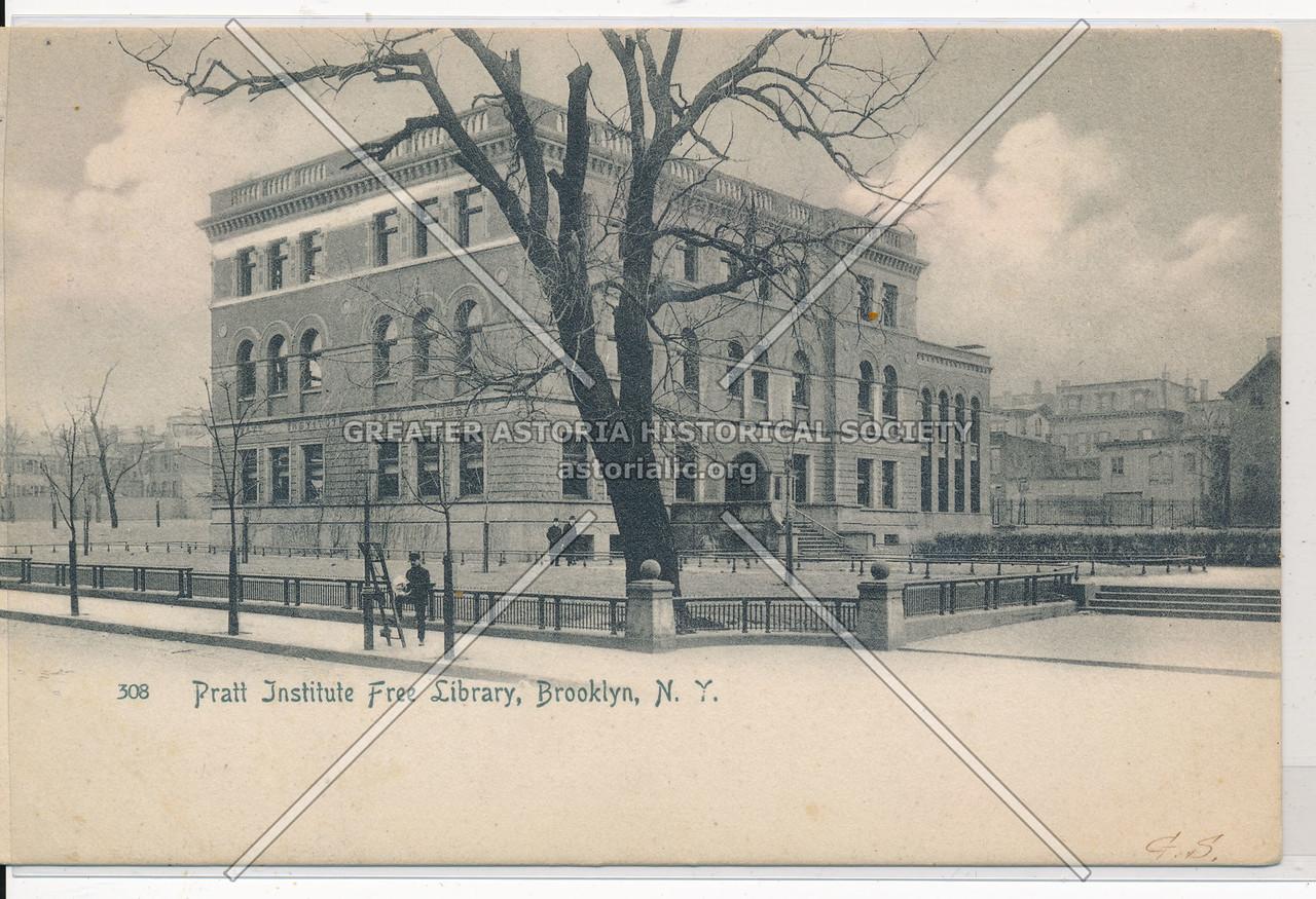 Pratt Institute Free Library, Bklyn