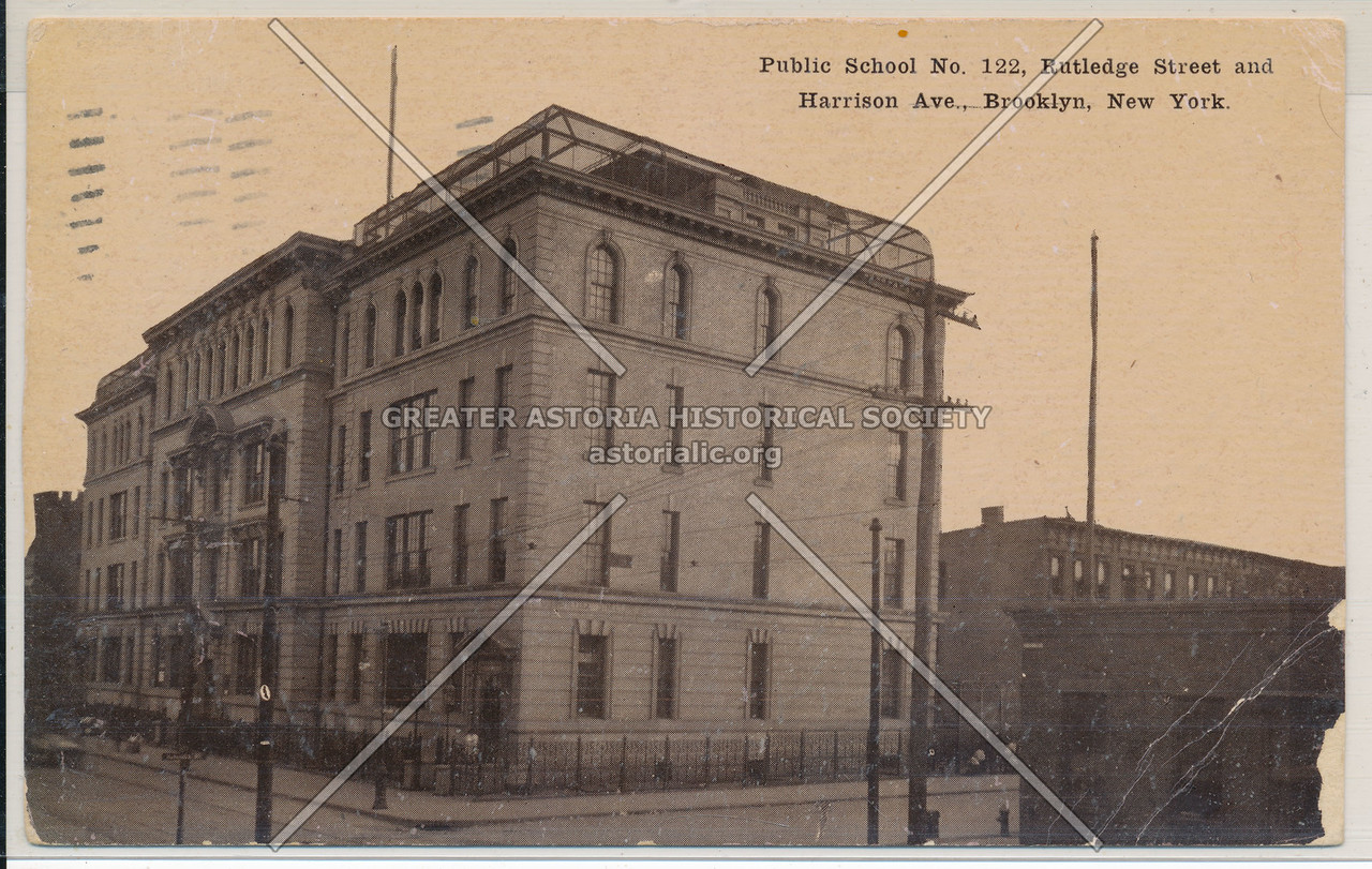 P.S. 122 Rutledge St. and Harrison Ave., Bklyn