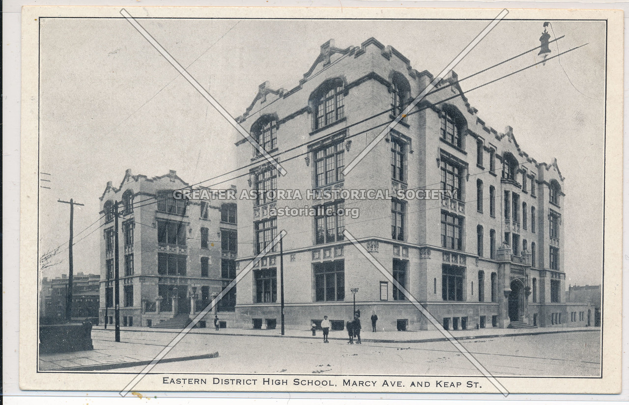 Eastern District HS, Marcy Ave. and Keap St.