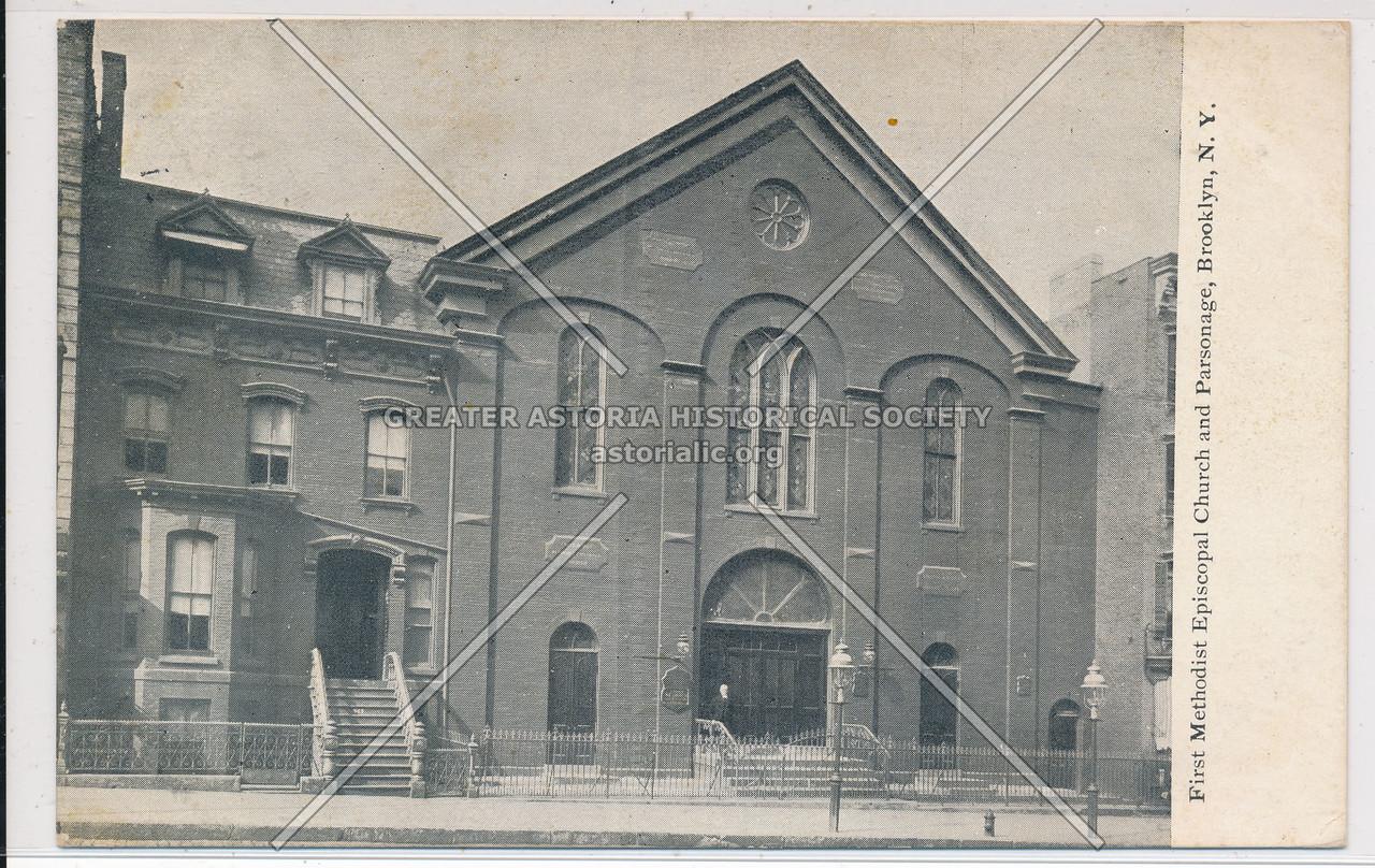 First Methodical Episcopal Church and Parsonage, Bklyn