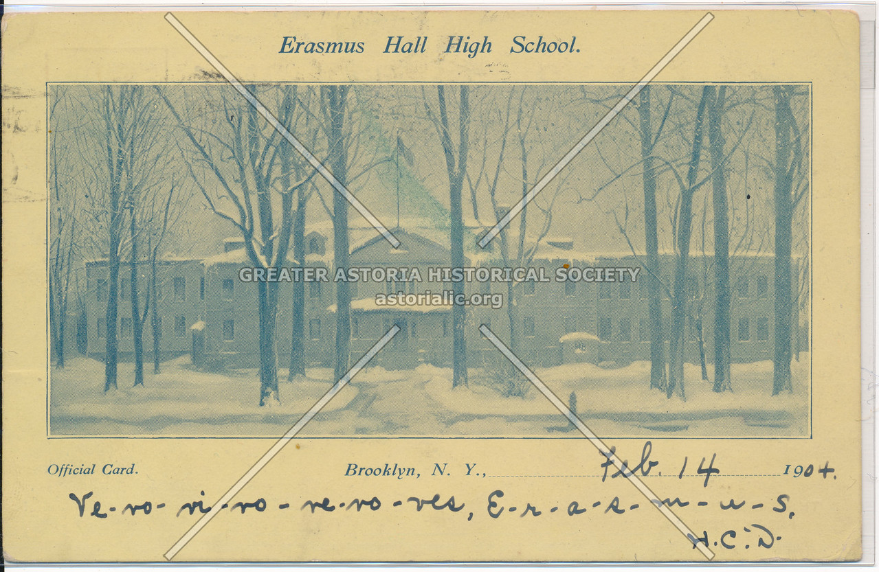 Erasmus Hall HS, Bklyn