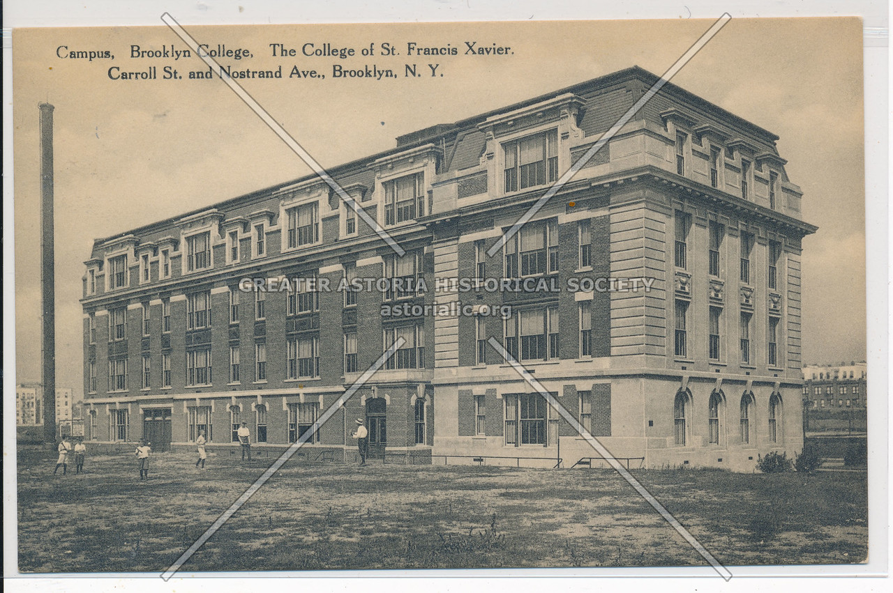 Bklyn College of St. Francis Xavier Campus, Carroll St. and Nostrand Ave., Bklyn