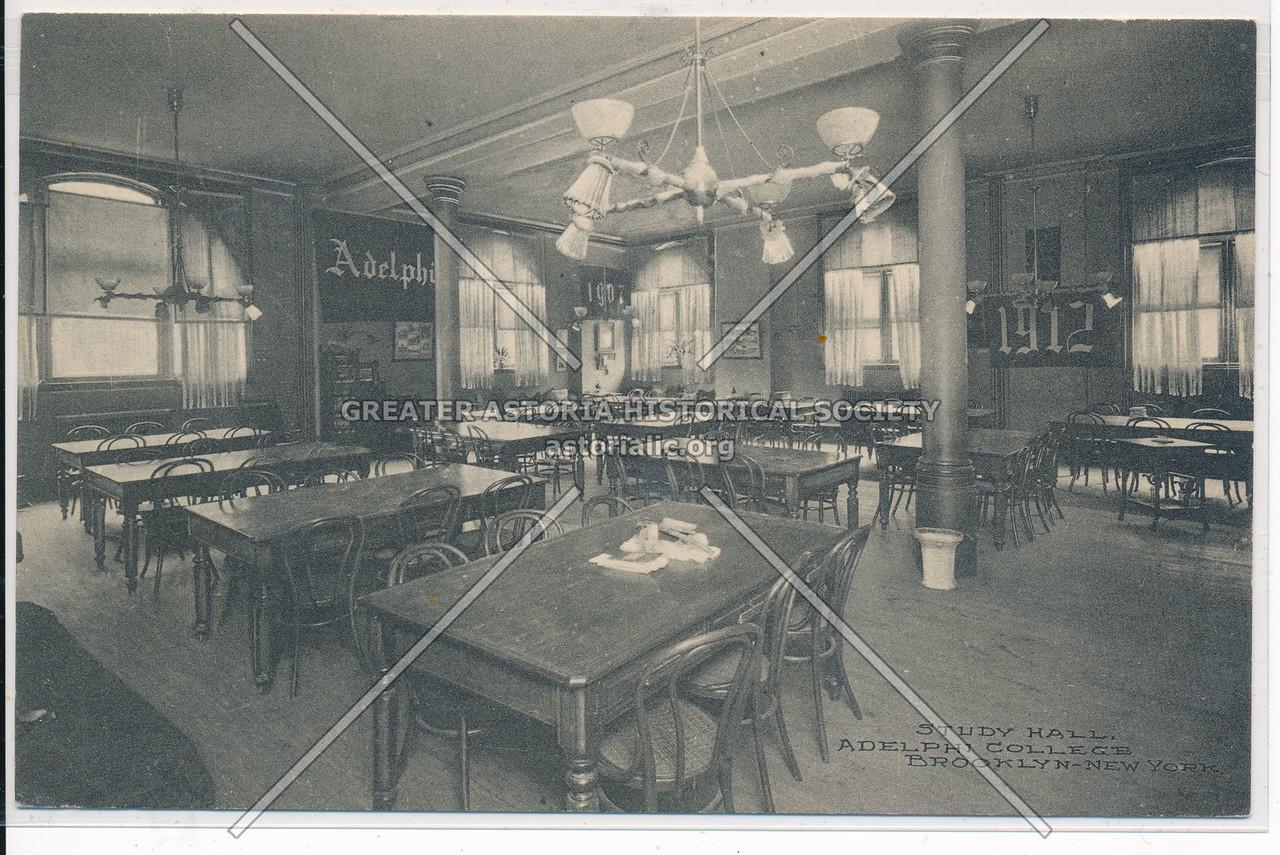 Study Hall at Adelphi College, Bklyn