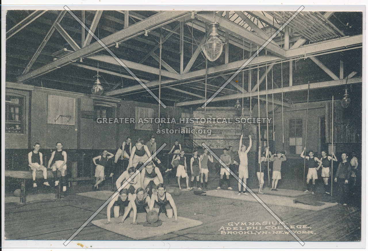 Gymnasium at Adelphi College, Bklyn