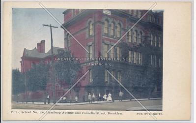 P.S. 106, Hamburg Ave (Wilson Avenue). and Cornelia St., Bklyn