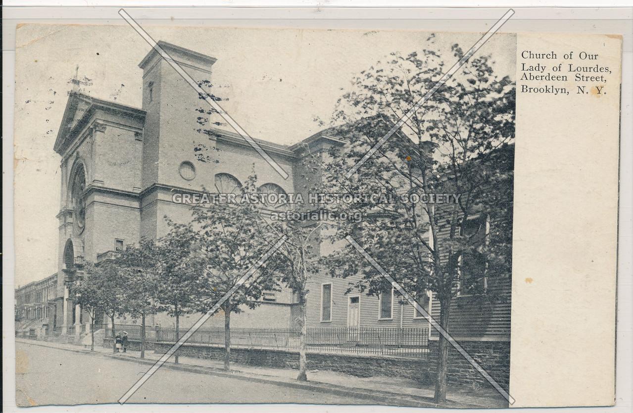 Church of Our Lady of Lourdes, Aberdeen St., Bklyn