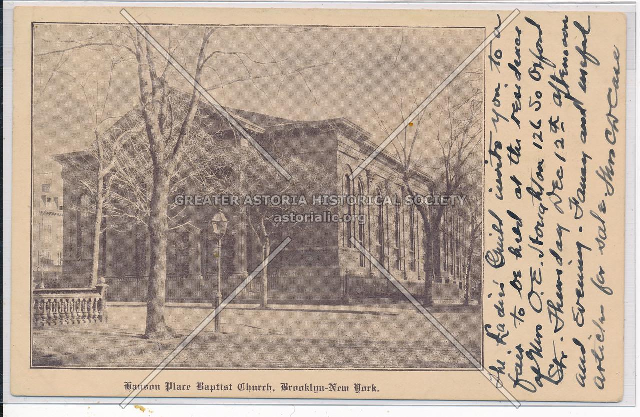 Hanson Place Baptist Church, Bklyn