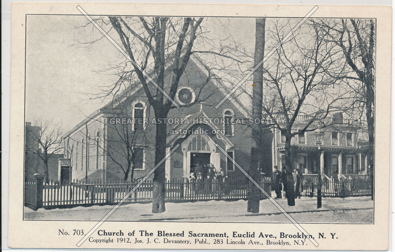 Church of the Blessed Sacrament, Euclid Ave., Bklyn