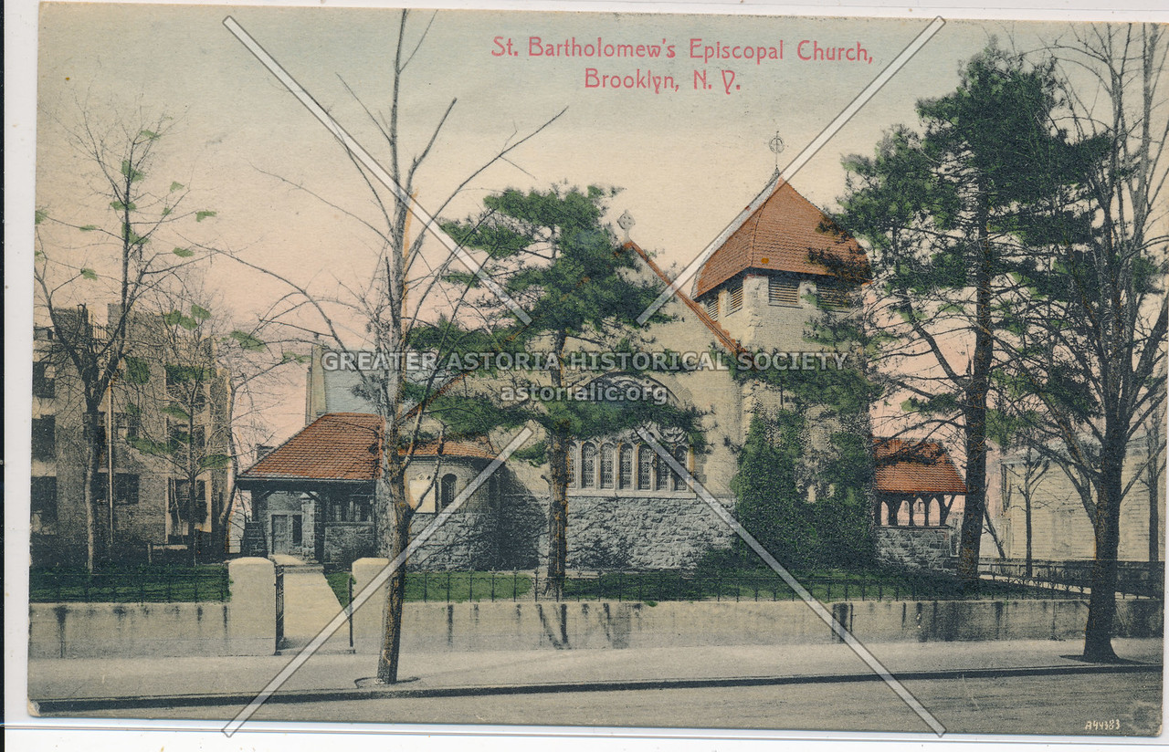 St. Bartholomew's Episcopal Church, Bklyn