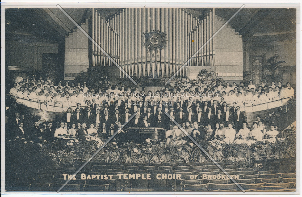 The Baptist Temple Choir of Bklyn