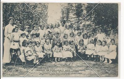 Hoagland Kindergarten Class, Classon & Willoughby Ave, Bklyn