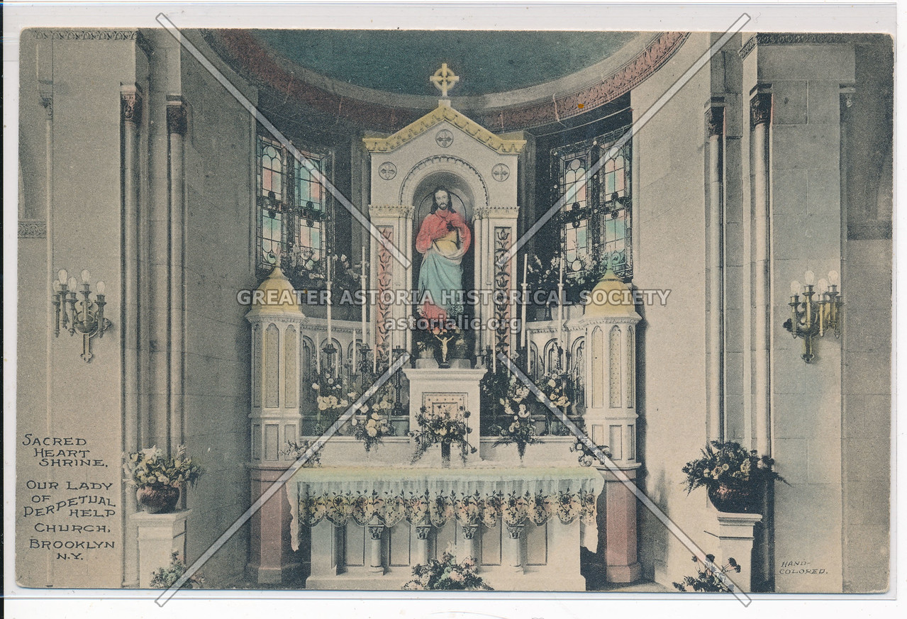 Our Lady of Perpetual Help Church, Sacred Heart Shrine, Bklyn