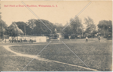 Ball Field at Duer's Pavillion, Whitestone, LI