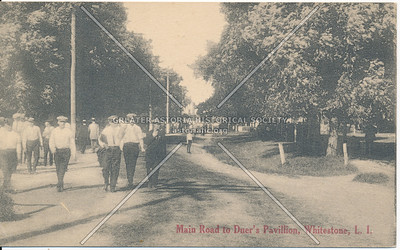 Main Road to Duer's Pavillion, Whitestone, LI