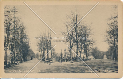 College Ave. and 13th St (College Place and College Point Blvd.)., College Point, LI, NY