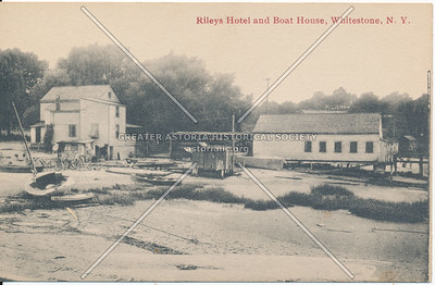 Riley's Hotel and Boat House, Whitestone, LI
