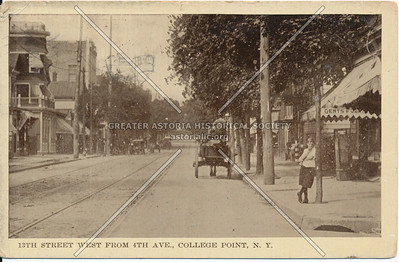 13th St. West from 4th Ave., (College Point Blvd at 18 Ave) College Point, NY