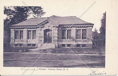 Carnegie Library, 14 Ave., College Point, NY