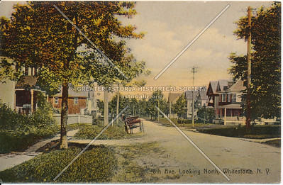 8th Ave (150 St). Looking North, Whitestone, NY
