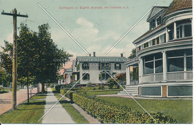 Cottages on 8th Ave (150 St)., Whitestone, LI