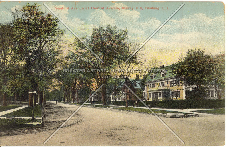 Sanford Avenue at Central Avenue (149 St), Murray Hill, Flushing, L.I.