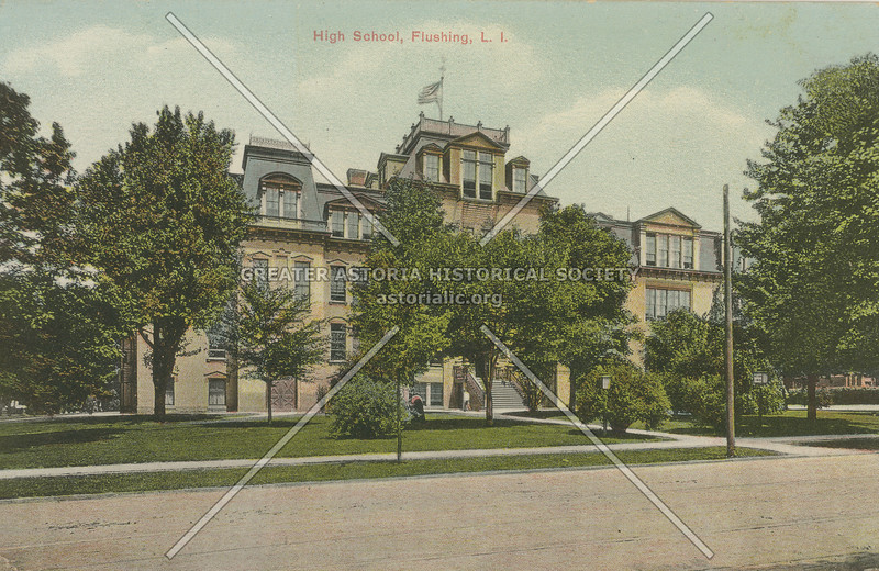 High School, Flushing, L.I.