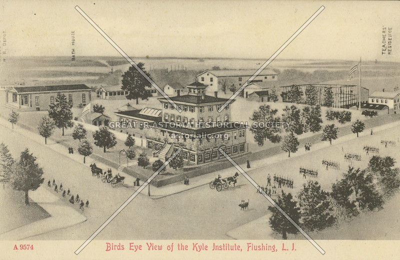 Birds Eye View of the Kyle Institute, Flushing, L.I.