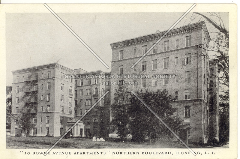 10 Bowne Avenue (Bowne St) Apartments, Northern Boulevard, Flushing, L.I.