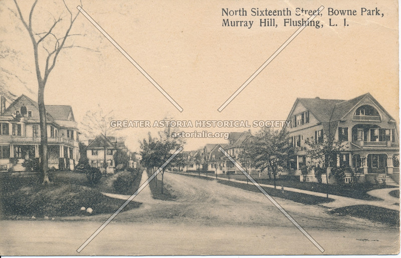 North Sixteenth Street (156 St), Bowne Park, Murray Hill, Flushing, L.I.