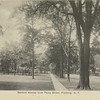 Sanford Avenue from Percy Street (147 St), Flushing, N.Y.