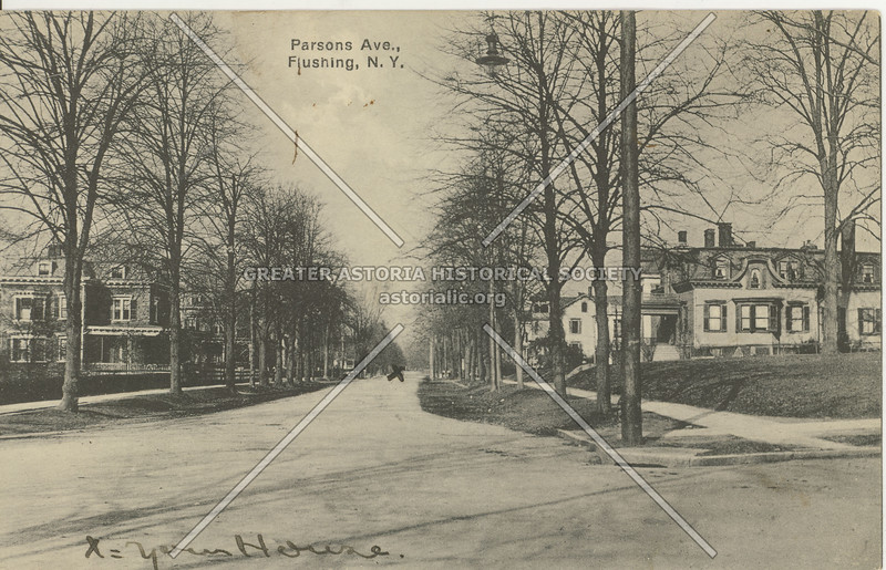 Parsons Ave (Parsons Blvd) ., Flushing, N.Y.