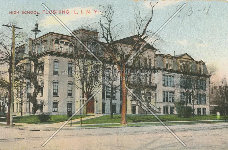 High School, Flushing, L.I., N.Y.