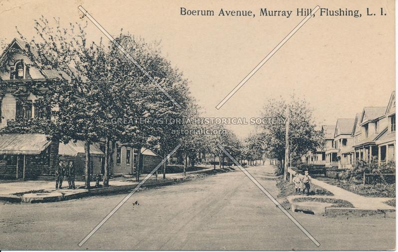 Boerum Avenue, (150 St) Murray Hill, Flushing, L.I.