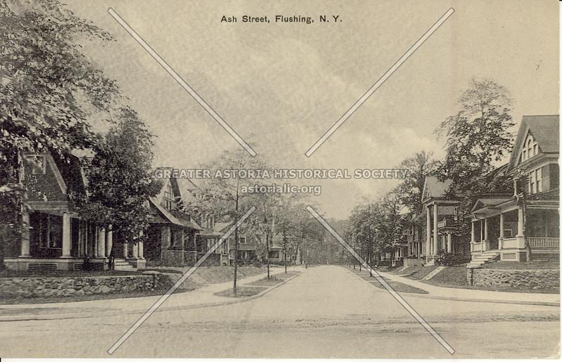 Ash Street (Ash Ave) , Flushing, N.Y.