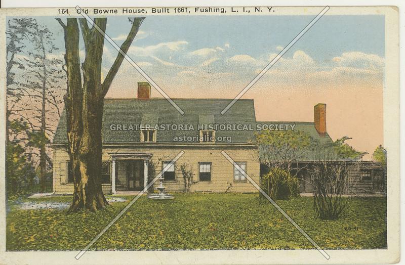 Old Bowne House, L.I.