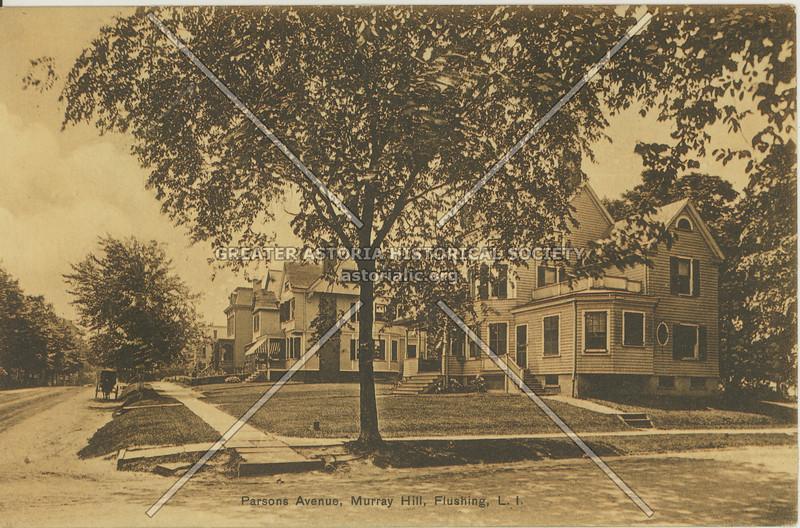 Parson's Avenue (Parsons Blvd), Murray Hill, Flushing, L.I.