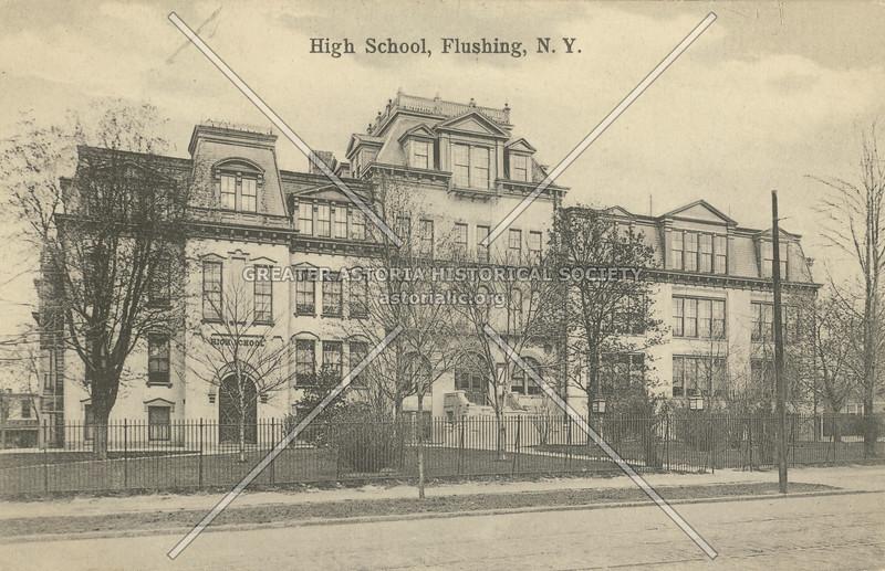 High School, Flushing, N.Y.