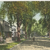 Amity St (Roosevelt Ave). looking East, Flushing, L.I.