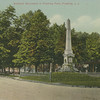 Soldiers' Monument in Flushing Park, Northern Blvd and Linden Place, Flushing, L.I., N.Y.