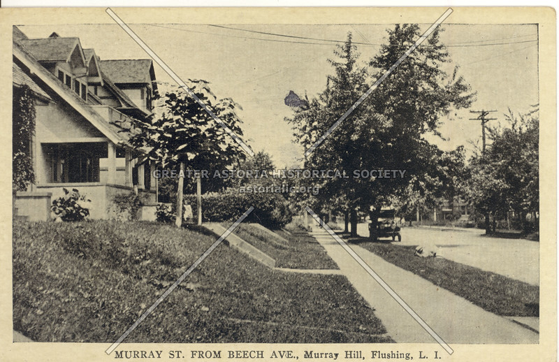 Murray St. from Beech Ave., Murray Hill, Flushing, L.I.