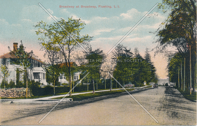 Broadway (Northern Blvd), Flushing, L.I.