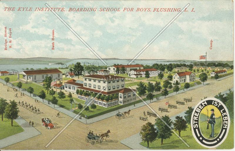 The Kyle Institute, Boarding School for Boys, Flushing, L.I.