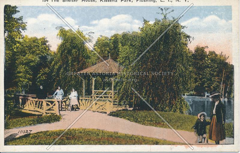 The Shelter House, Kissena Park, Flushing, L.I., N.Y.