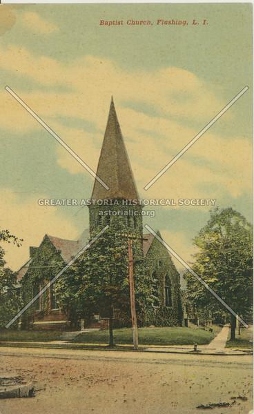 Baptist Church, Sanford Ave at Union St., Flushing, L.I.