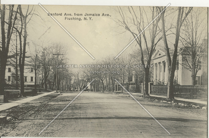 Sanford Ave, from Jamaica Ave (Kissena Blvd)., Flushing, N.Y.